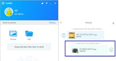 Pada pembahasan sebelumnya admin telah membahas tentang  Cara Transfer Data Dari Smartphone Ke Laptop/Komputer ataupun Sebaliknya Tanpa Bluetooth Menggunakan SHAREit