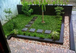 desain taman minimalis modern 2020 2021 | rumah idaman