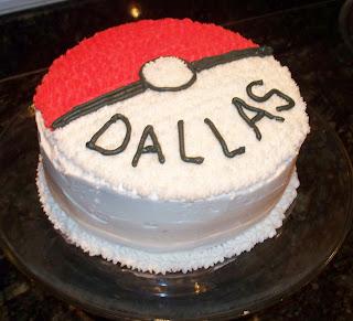 Make Do Pokemon Birthday Cake