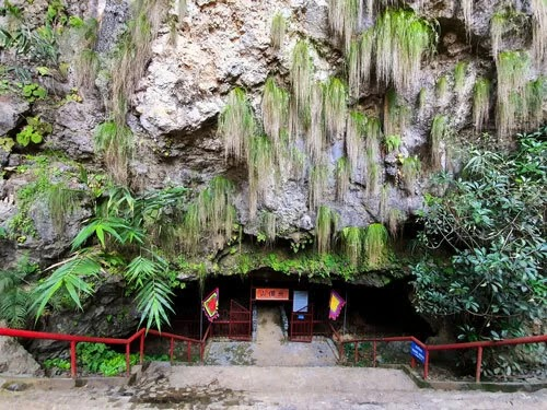 Tien Son Cave in the mountains of Northwest