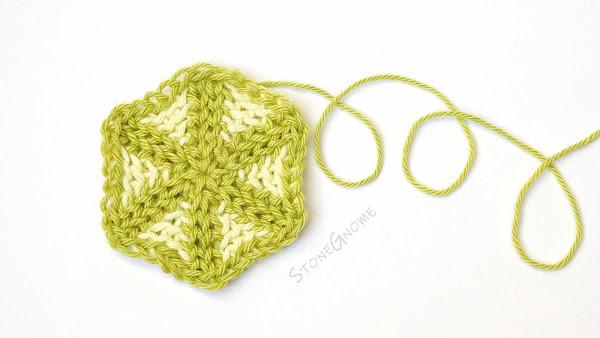Tessa's Triangles - Hexagon crochet pattern