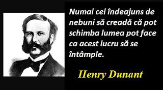 Citatul zilei: 8 mai - Henry Dunant