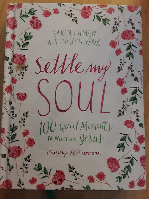 Check out my review of Settle My Soul: 100 Quiet Moments to Meet with Jesus on my blog, A Glimpse of Normal