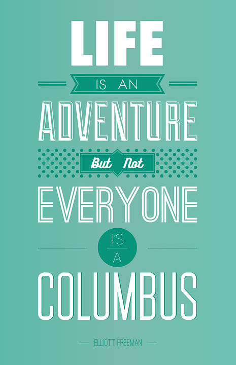 Life is an Adventure | Amazing Life Sayings | Inspiring Quotes | [HNQuotes] Wallpaper