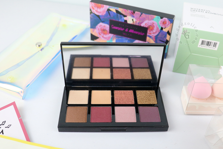 SUNRISE & MOONRISE BCL X ALTHEA EYESHADOW PALETTE REVIEW