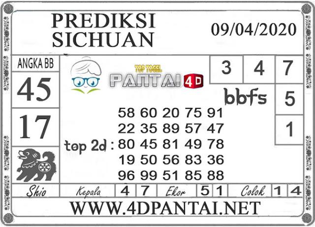 PREDIKSI TOGEL SICHUAN PANTAI4D 09 APRIL 2020