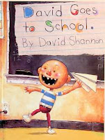 bookcover of DAVID GOES TO SCHOOL  by David Shannon