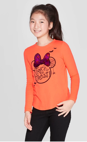 Minnie Trick or Treat Shirt