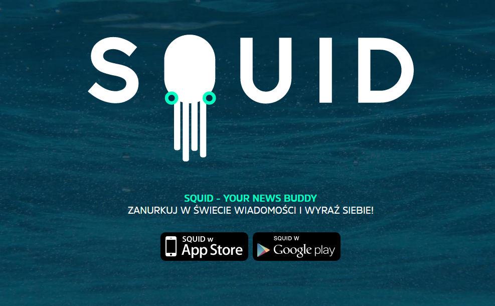 aplikacja squid do pobrania w app store i google play