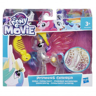 Glitter Celebration My Little Pony Celestia Brushables