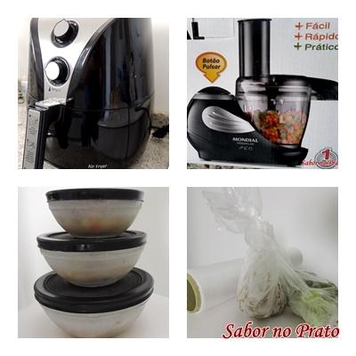 eletroportáteis e utensílios de cozinha
