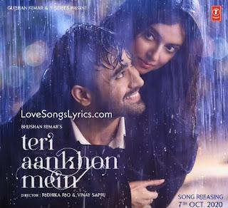 Teri aankhon mein lyrics in hindi
