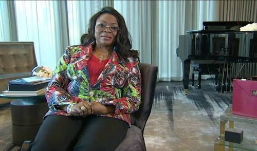 Richest Woman In Nigerià, Mrs. Alakija: