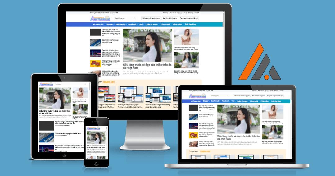 Blogger Template AnhTraiNang Magazine phiên bản chất lượng cao