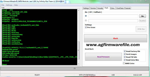 ag glow stock rom firmware file