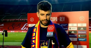 Barcelona defender Pique: 'We're happy with Laporta, it's like doing a reset'