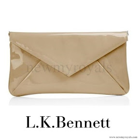 Queen Maxima carried L.K Bennett Clutch