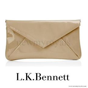 Queen Maxima carried L.K Bennett Clutch