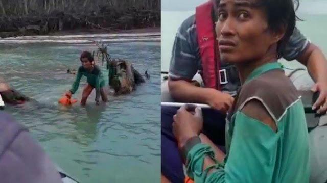 Korban Tsunami, Jokowi dan Lago Ditemukan Terdampar Selama Seminggu di Pulau Panjang