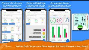 Cara Menggunakan Aplikasi Body Temperature Diary