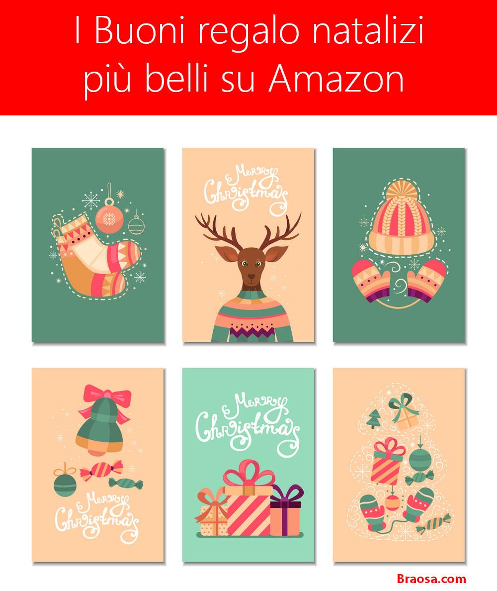 I 12 buoni regalo più belli presenti su Amazon