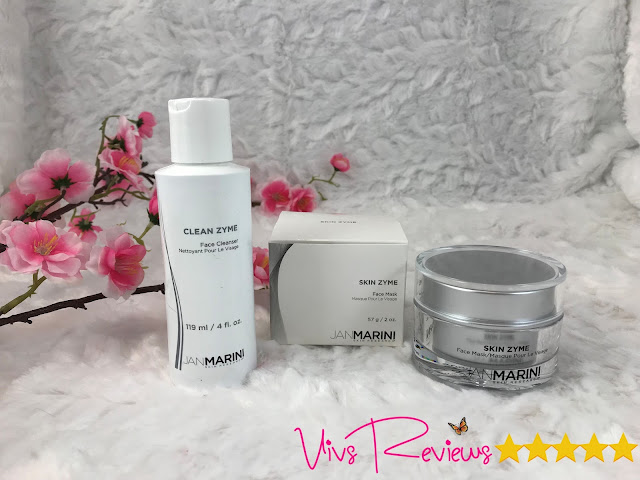Jan Marini Clean Zyme Cleanser and Skin Zyme Mask duo
