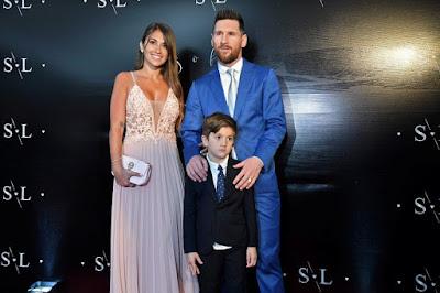 Barcelona striker Luis Suarez  Renews Wedding Vows (Photos)