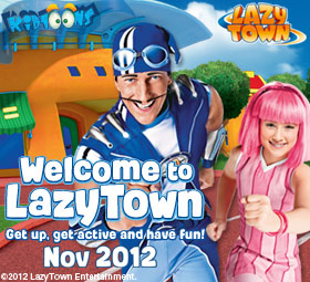 lazytown live show - Picture of Butlin's Minehead Resort ...