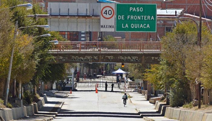 Continúan gestiones para habilitar el paso fronterizo Villazón - La Quiaca