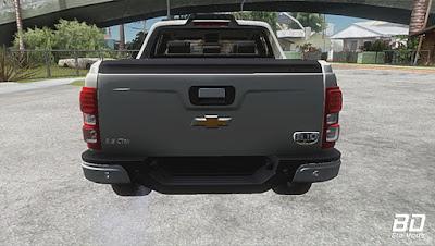 Download , Carro, Mod , Chevrolet S10 High Country 2.8 CTDI 2017 para GTA San Andreas , GTA SA , Jogo PC