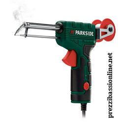 Saldatore a pistola con avanzamento automatico dello for Pistola sparapunti elettrica parkside