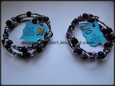 bransoletki na drucie pamięciowym