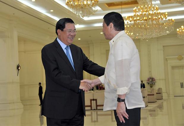 Duterte et Hun Sen