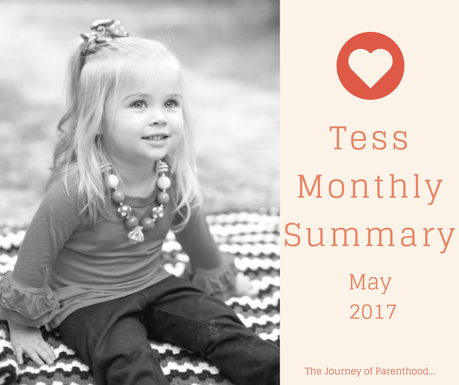 Tess Monthly Summary: May