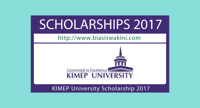 KIMEP University Scholarship 2017