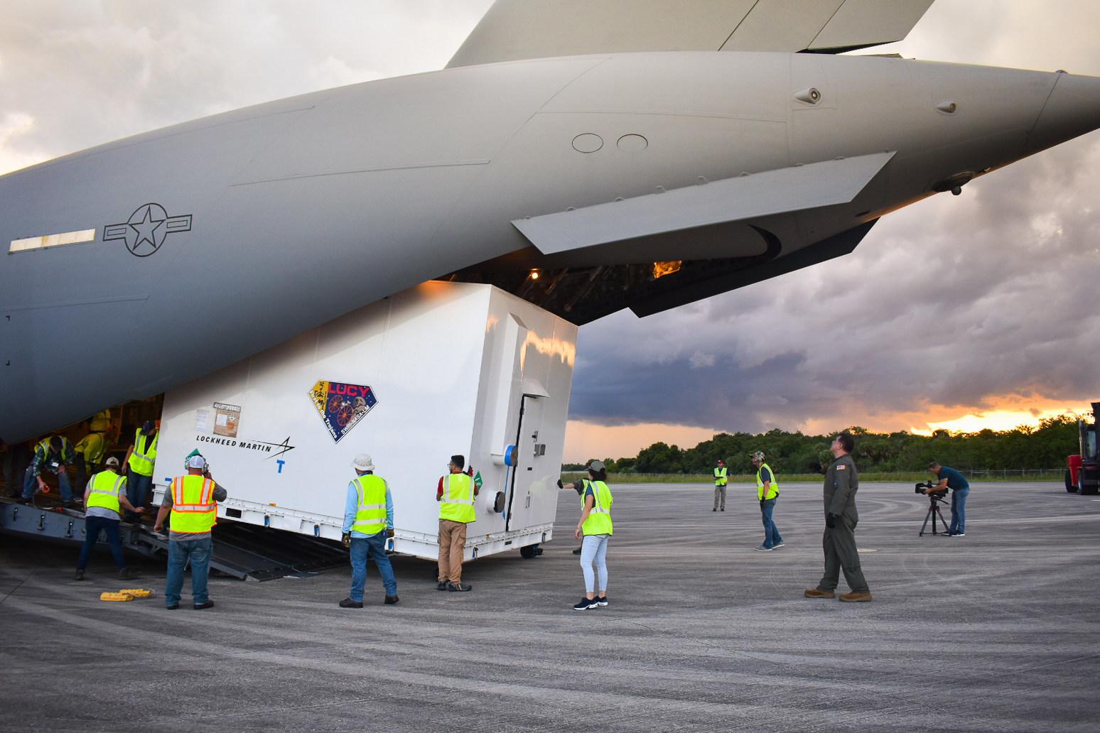 NASA's Lucy Spacecraft Begins Launch Preparations