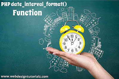 PHP date_interval_format() Function