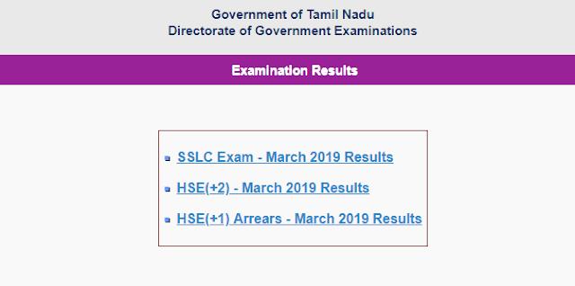 Tamil Nadu 10th Exam Results