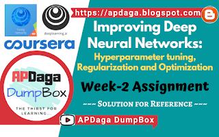 Improving Deep Neural Networks (Week-2)