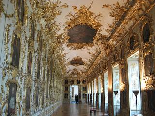 Ornate hallways