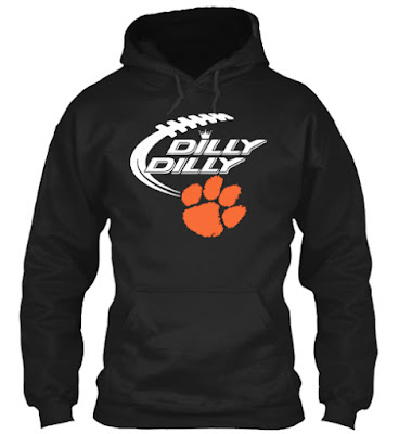 Clemson Tigers Dilly Dilly Hoodie