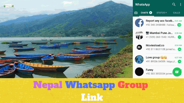 99+ Best Nepal Whatsapp Group Link List Collection