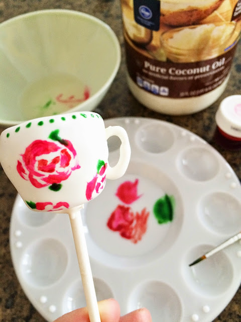 cake pops - all things belle - tea cups