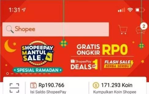 Cara Mendapatkan Gratis Ongkir SMS Shopee-2