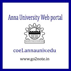ANNA UNIVERSITY WEB PORTAL ENTRY (Attendance, Login) 2018
