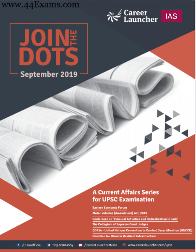 Career-Launcher-Current-Affairs-September-2019-For-UPSC-Exam-PDF-Book