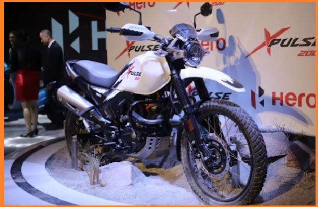 New upcoming Hero Bike X Pulse 200
