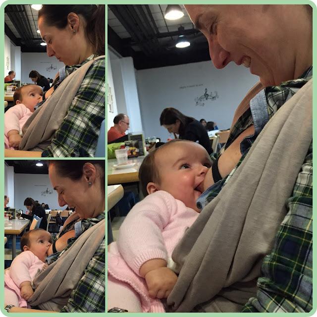 Momentos de lactancia materna