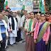 रसोई गैस मूल्य बढ़ोत्तरी पर भड़की कांग्रेस, प्रदर्शन
