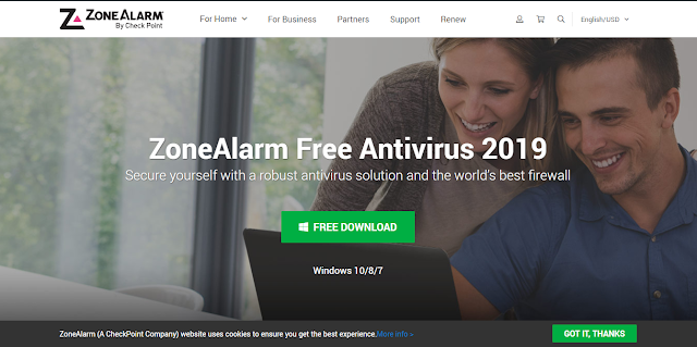 Antivirus Gratis Terbaik Yang Ringan Untuk Laptop - Zone Alaram free antivirus
